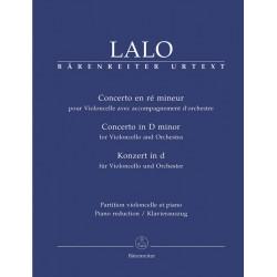 PARTITION LALO CONCERTO VIOLONCELLE BA6999-90