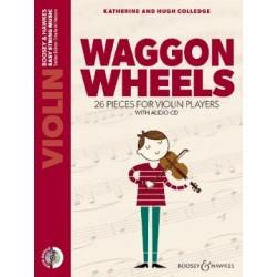 PARTITION VIOLON WAGGON WHEELS BH13422 LE KIOSQUE A MUSIQUE