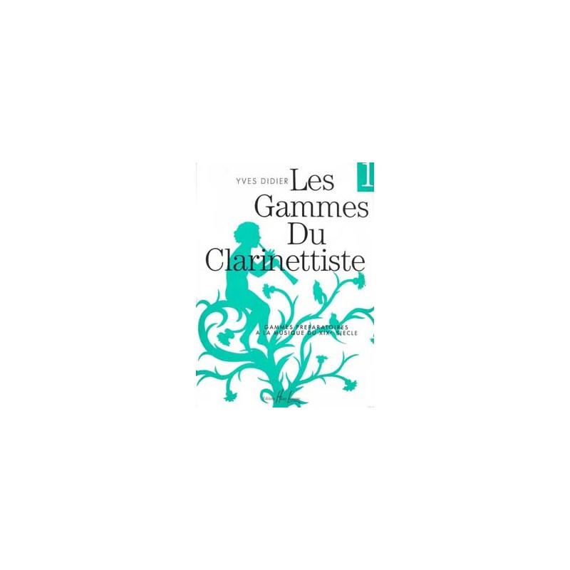 Yves Didier Les gammes du clarinettiste