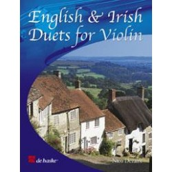 ENGLISH AND IRISH DUETS FOR VIOLIN DE HASKE