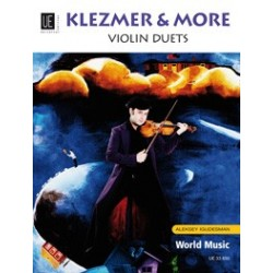 KLEZMER AND MORE POUR 2 VIOLONS IGUDESMAN UNIVERSAL EDITION