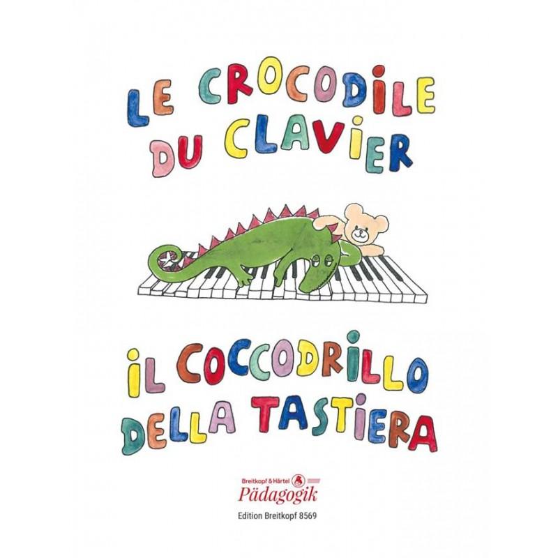 LE CROCODILE DU CLAVIER EDITIONS BREITKOPF PIANO SOLO