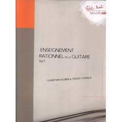 ENSEIGNEMENT RATIONNEL DE LA GUITARE VOLUME 1 DE AUBIN