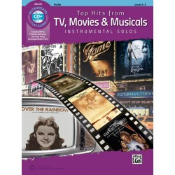 TOP HITS FROM TV MOVIE AND MUSICALS POUR VIOLON