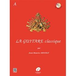 Partition La guitare classique volume A Le kiosque à musique Avignon