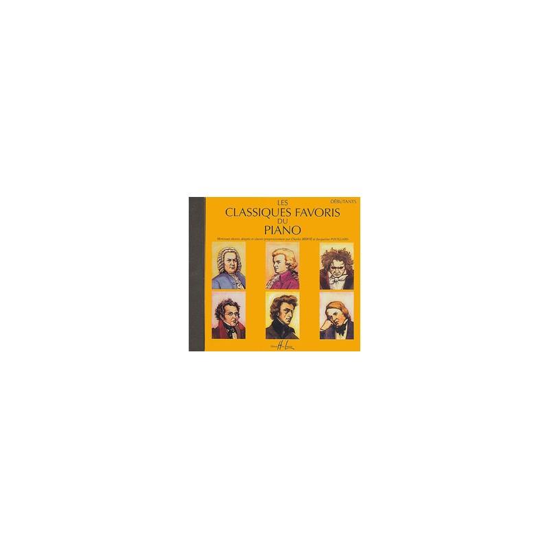 LES CLASSIQUES FAVORIS DU PIANO DEBUTANTS LE CD