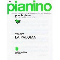 La Paloma partition piano facile Pianino 27