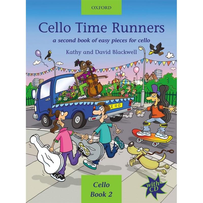CELLO TIME RUNNERS BOOK2 AVEC CD