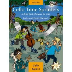 Partition cello time sprinters 9780193221154  le kiosque à musique Avignon