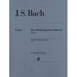Bach Le clavier bien tempéré volume 1 HN14 le kiosque à musique Avignon