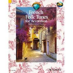 FRENCH FOLK TUNES ACCORDEON MURRAY GRAINGER EDITIONS SCHOEE ED13445