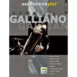 RICHARD GALLIANO PARTITION ACCORDEON VHR1815