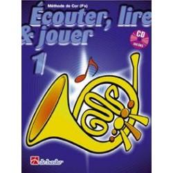 METHODE DE COR ECOUTER LIRE ET JOUER VOLUME 1 DE HASKE
