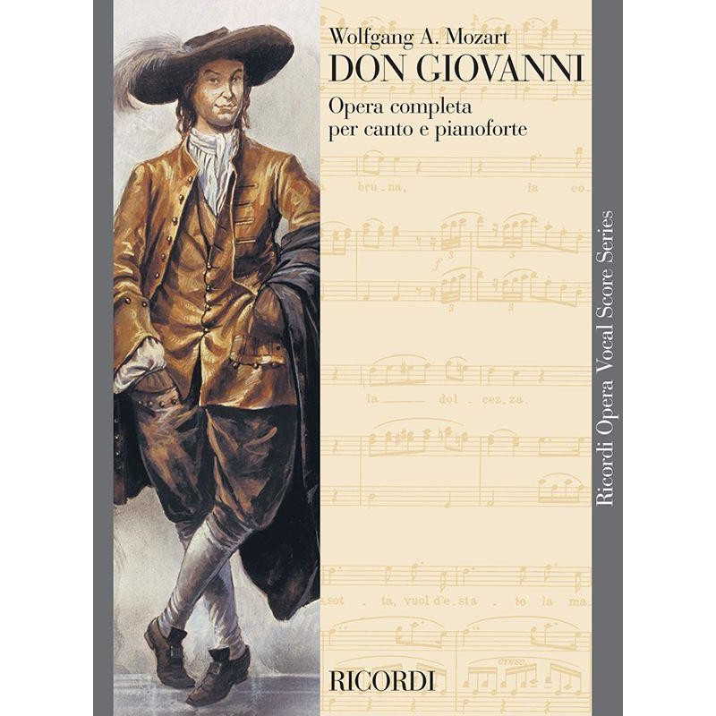 DON GIOVANNI PIANO-CHANT EDITION RICORDI ITALIEN