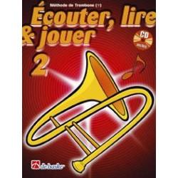 Méthode trombone Ecouter Lire jouer DH1002353 Le kiosque à musique Avignon