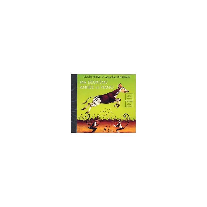 MA DEUXIEME ANNE DE PIANO LE CD EDITIONS LEMOINE