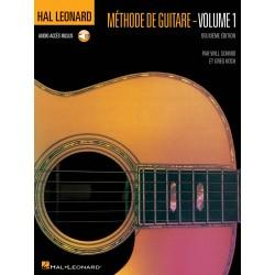 HAL LEONARD METHODE DE GUITARE VOLUME 1 DE WILL SCHMID ET GREG KOCH