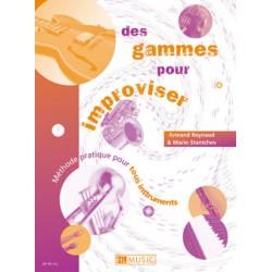 DES GAMMES POUR IMPROVISER D'ARMAND REYNAUD HL28801