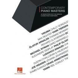 PARTITION PIANO CONTEMPORARY PIANO MASTERS HL00290892 LE KIOSQUE A MUSIQUE