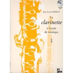 JEAN-LOUIS MARGO LA CLARINETTE A L'ECOLE DE MUSIQUE VOLUME 1 HC25