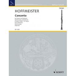 HOFFMEISTER CONCERTO POUR CLARINETTE SIB MAJEUR