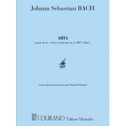 BACH ARIA POUR PIANO BWV 1056