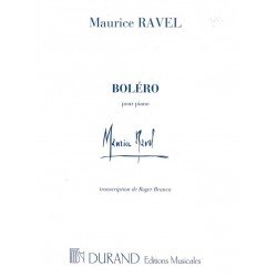 RAVEL BOLERO POUR PIANO DF11671