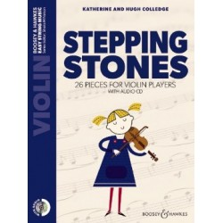 STEPPING STONES VIOLON AVEC CD - EDITIONS BOOSEY