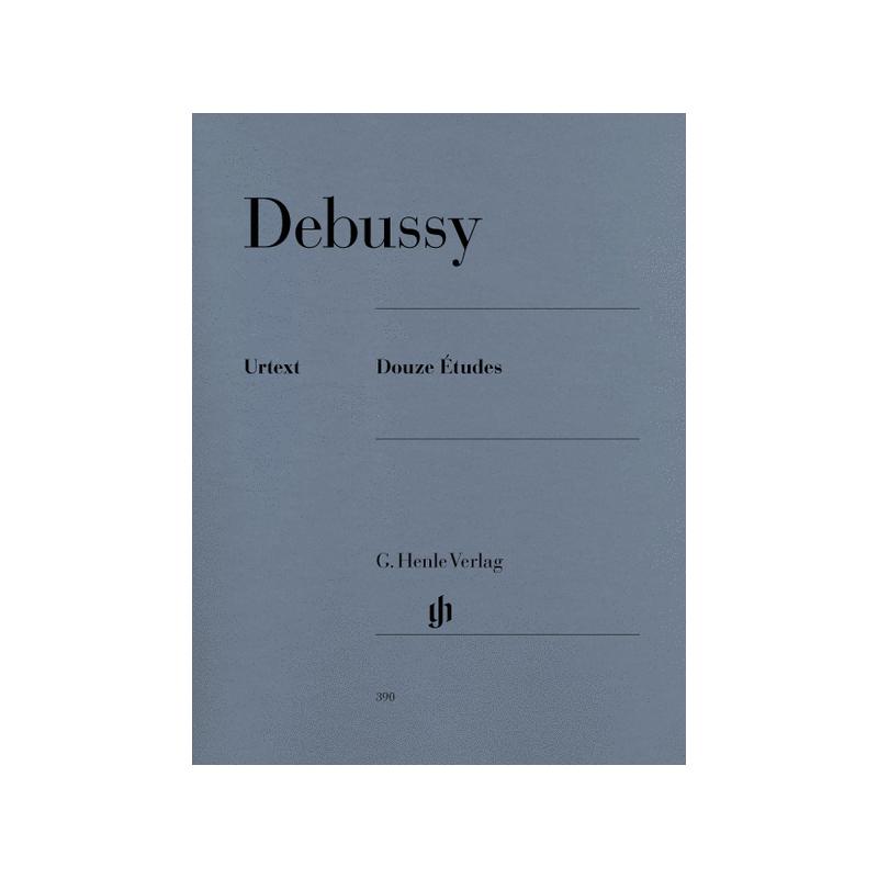 DEBUSSY - 12 ETUDES POUR PIANO EDITIONS HENLE VERLAG