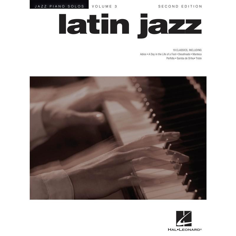 JAZZ PIANO SOLOS 3 LATIN JAZZ