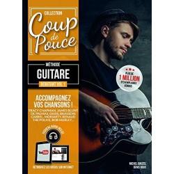 PARTITION GUITARE COUP DE POUCE  MF910 LE KIOSQUE A MUSIQUE