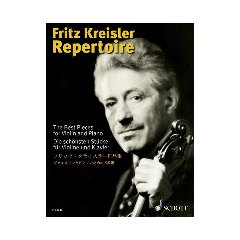 FRITZ KREISLER REPERTOIRE VIOLON ED8658