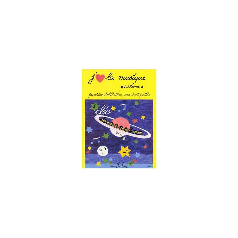 J'aime la musique volume 1 de Cléo HL24960 le kiosque à musique Avignon