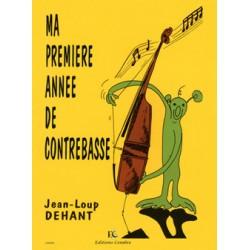 JEAN-LOUP DEHANT MA PREMIERE ANNEE DE CONTREBASSE C05402