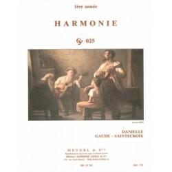 GAUDE SAINTECROIX HARMONIE 1ère année HE33782 CY025