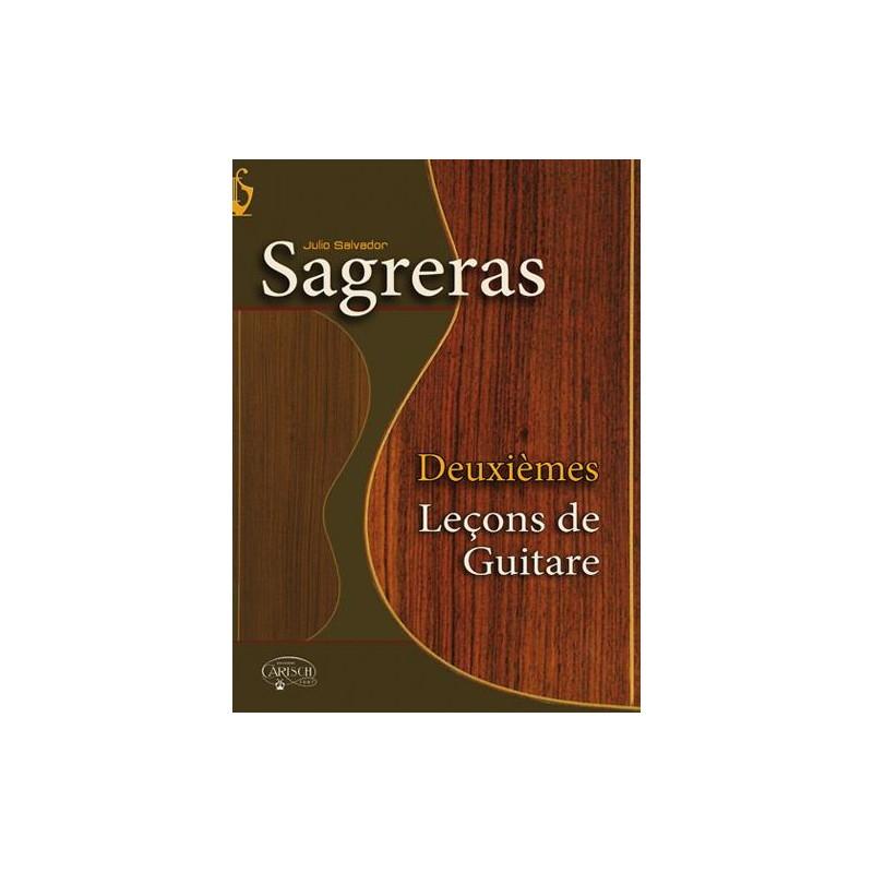JULIO SAGRERAS DEUXIEMES LECONS DE GUITARE ED.CARISCH MF2224