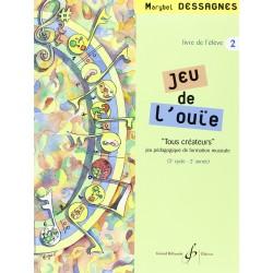 MARYBEL DESSAGNES JEU DE L'OUIE VOLUME 2 GB7321 Billaudot