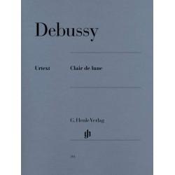 DEBUSSY CLAIR DE LUNE PIANO HENLE VERLAG HN391