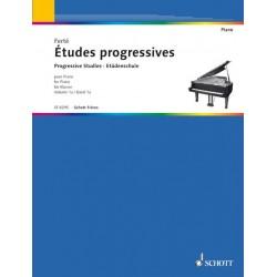 ARMAND FERTE ETUDES PROGRESSIVES 1A PIANO EDITIONS SCHOTT