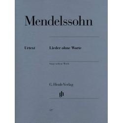 Partition piano Mendelssohn Romances sans paroles - Kiosque  musique Avignon