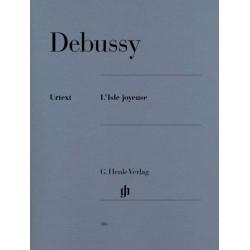 Partition Debussy L'Isle Joyeuse - Kiosque musique avignon
