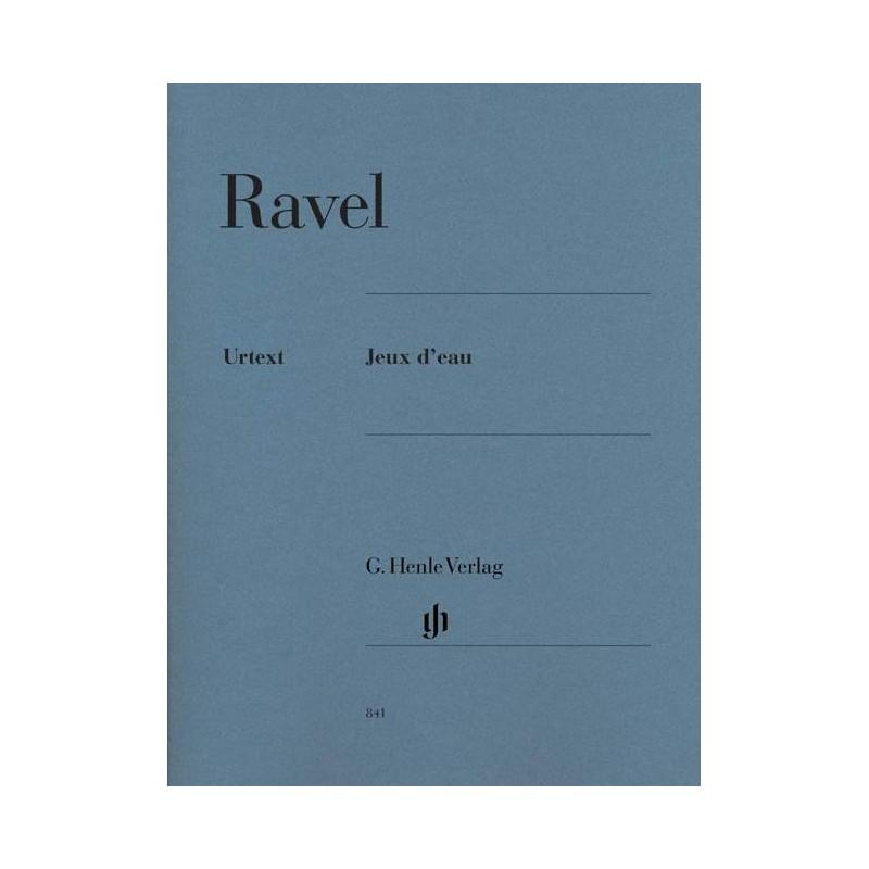 PARTITION PIANO RAVEL JEUX D'EAU AVIGNON