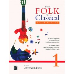 FROM FOLK TO CLASSICAL VOLUME 1 UE21673