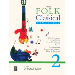 FROM FOLK TO CLASSICAL VOLUME 2 GUITARE UE21674