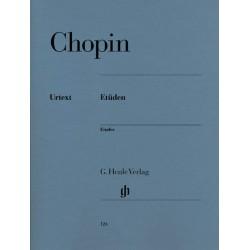 CHOPIN ETUDES PIANO HENLE HN124