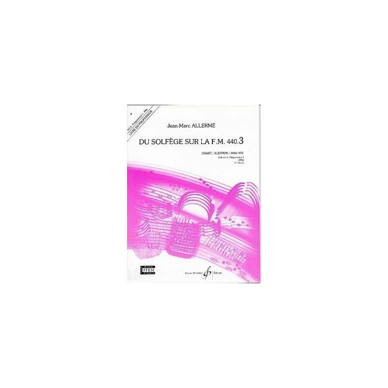 ALLERME DU SOLFEGE SUR LA FM 440-3 CHANT GB5171