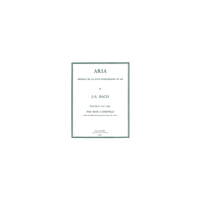 ARIA BWV 1068 POUR ORGUE P4009 COMBRE
