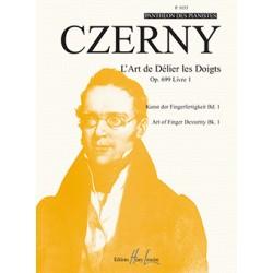 CZERNY L'ART DE DELIER LES DOIGTS OPUS 699 - Kiosque musique Avignon