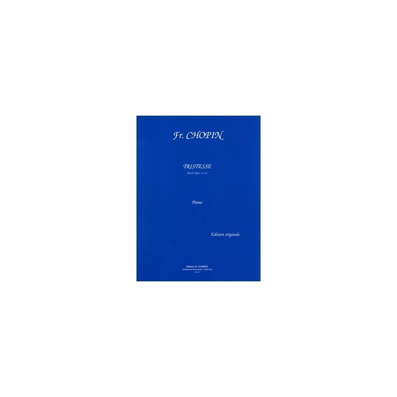 CHOPIN TRISTESSE PIANO P01777