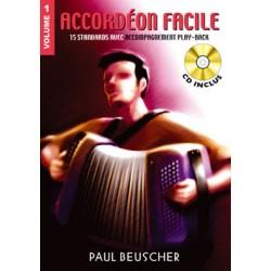 ACCORDEON FACILE VOLUME 1 BEUSCHER PB1155